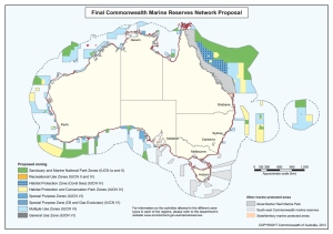 Final Commonwealth Marine Reserves Network Proposal Map