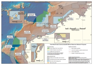 Final North West Commonwealth Marine Reserve Proposal Map