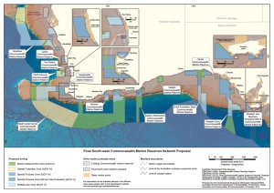 Final South West Commonwealth Marine Reserve Proposal Map