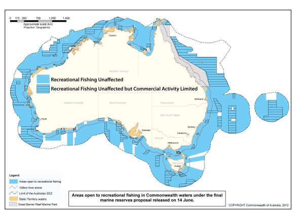Recreational Fishing Map
