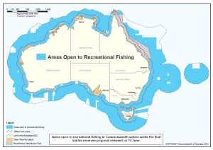 Recreational Fishing Map